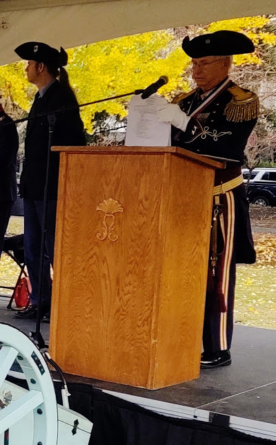 Dr. Nic Butler To The Left, Another Victory Day Speaker